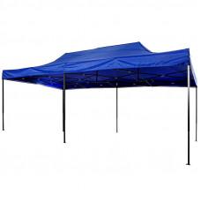 Шатер раздвижной 3 м х 6 м синий палатку для отдыха деревянную беседку палатка одноместная палатка 2 местная